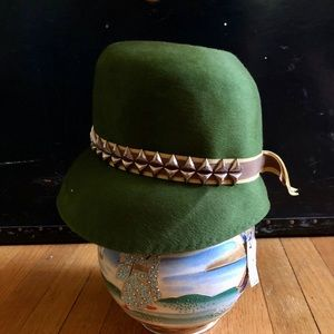 20s-30s Deadstock Vintage Henry Pollak Cloche Hat